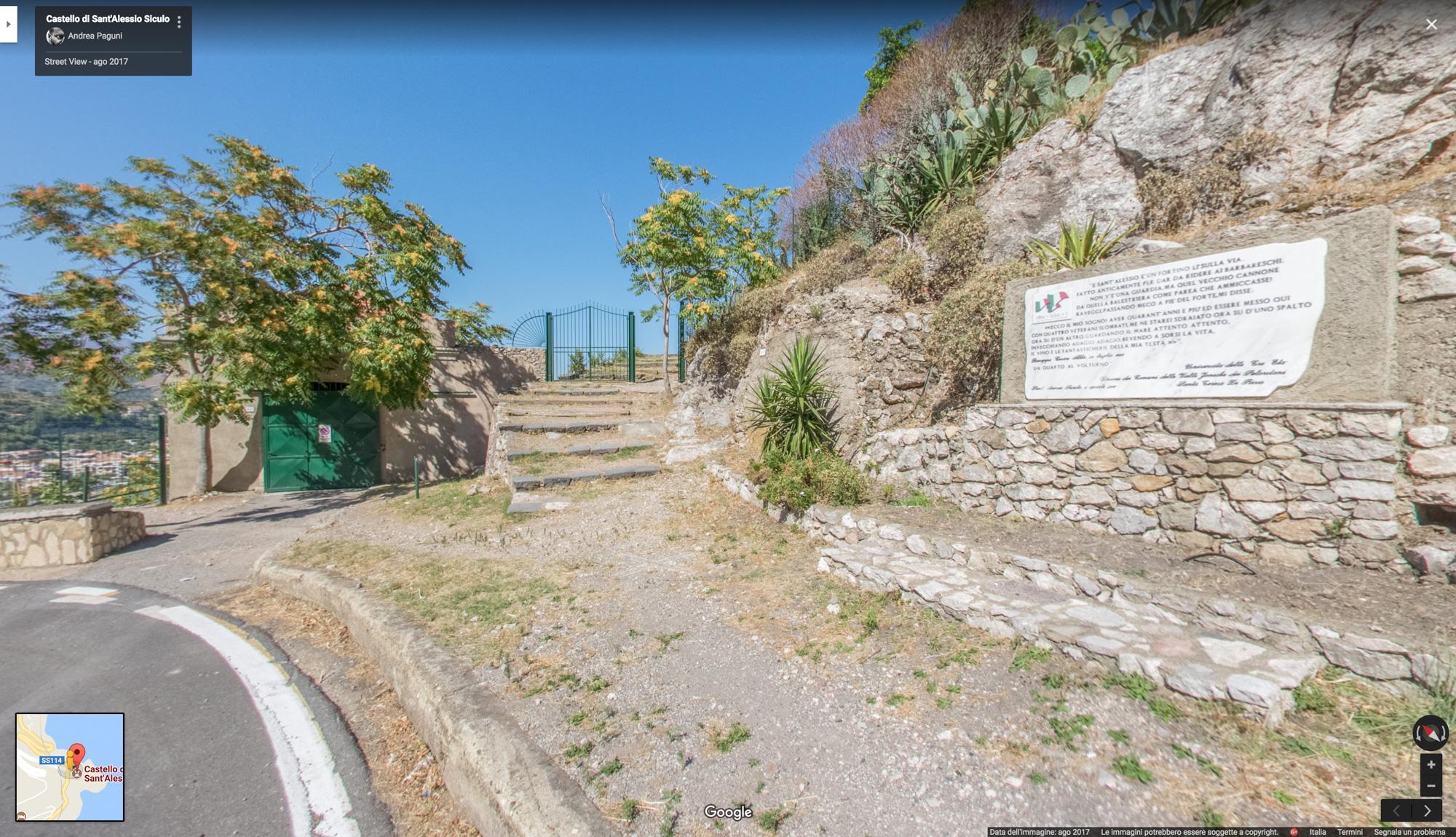 Castello di Sant'Alessio Siculo